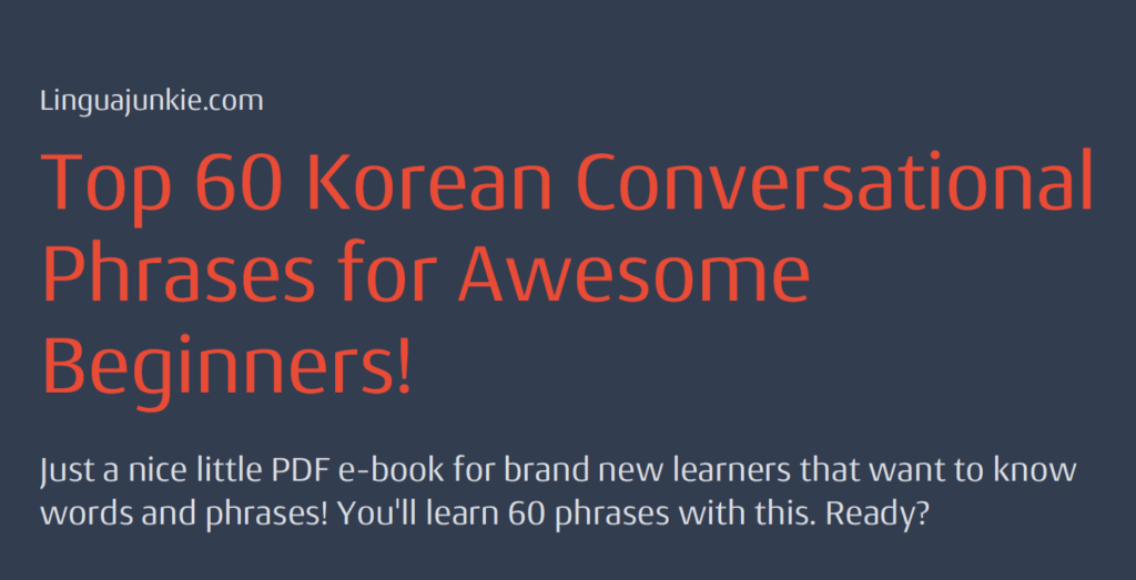 Korean Language Books Pdf
