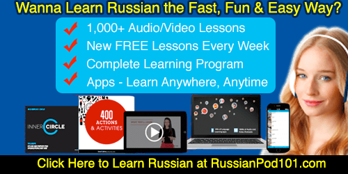 learn russian with RussianPod101.com