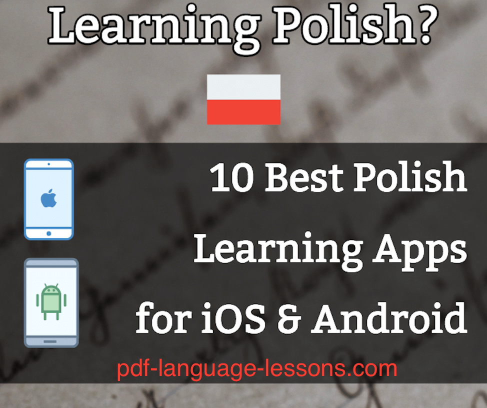 pdf - polish learning apps