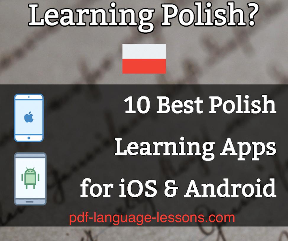 pdf - polish learning apps