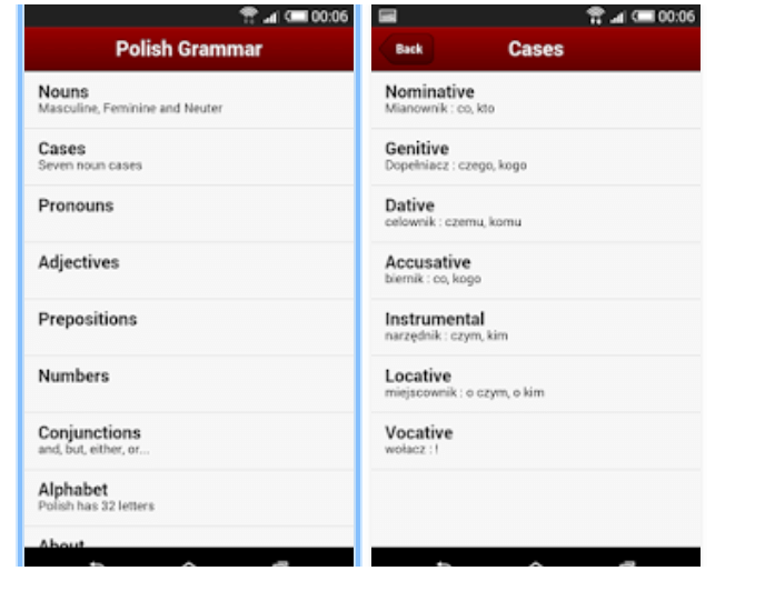 polish learning apps