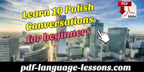 polish conversations