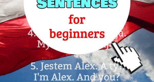 polish sentences