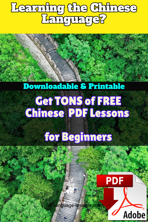 chinese pdf lessons