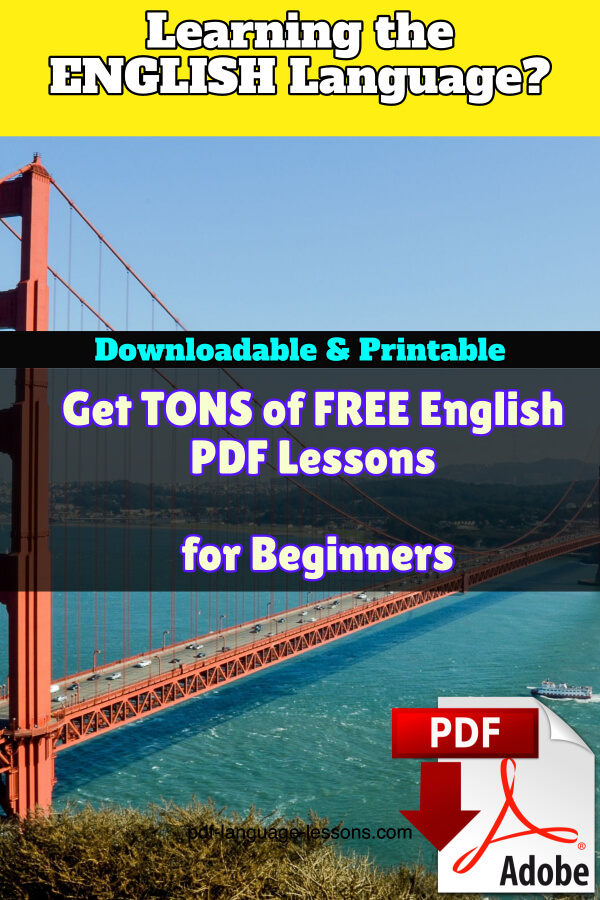 english pdf lessons