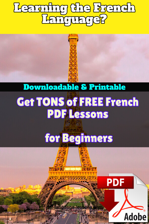 french pdf lessons
