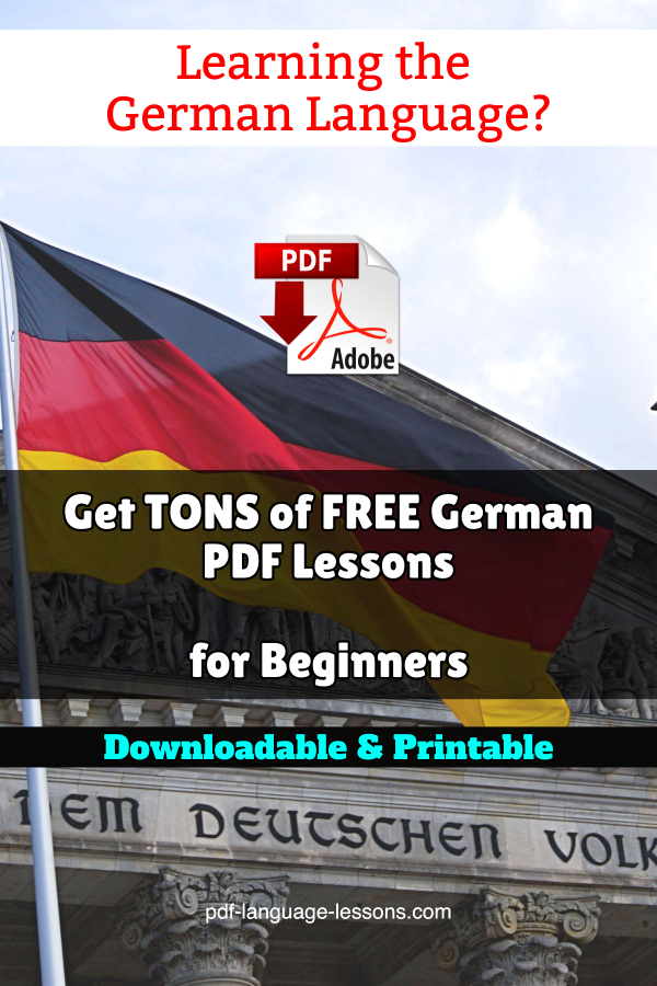 german pdf lessons